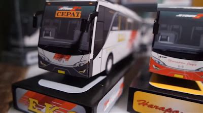 cara membuat bus mainan dari kardus cara pembuatan miniatur bus dari kardus