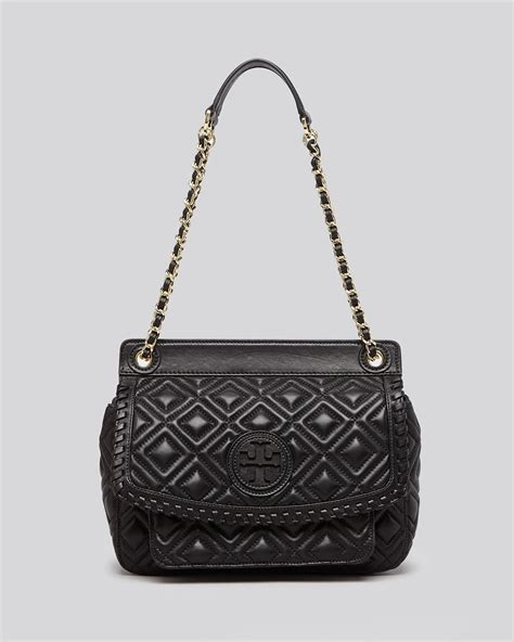 Burch Quilted Handbag by Burch Shoulder Bag Marion Quilted Small In Black Lyst