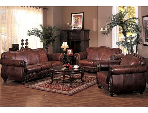 Wood And Leather Living Room Furniture Leather Living Room Furniture Entrancing Brown Leather Living Room Costco Leather Living Room