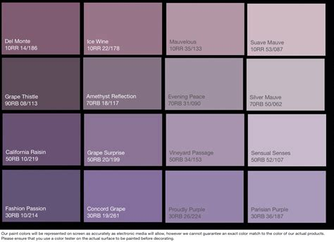 paint shades craft studio paint palettes shades of purple plum