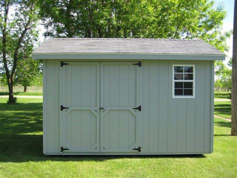 custom outdoor storage sheds choose  wood vinyl