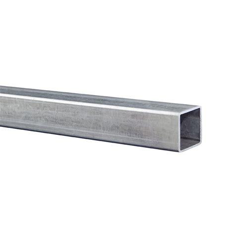 metal mate 25 x 25 x 1 6mm 3m galvanised steel square
