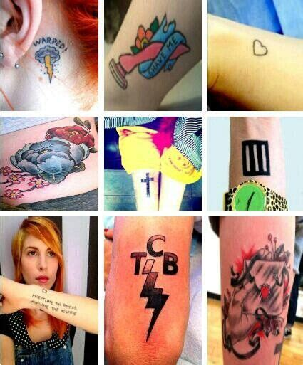 hayley williams tattoo hayley williams tattoos search pins needles