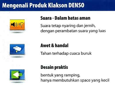 New Klakson Elektrik Denso Suara Mantap Tahan Air klakson densocentra