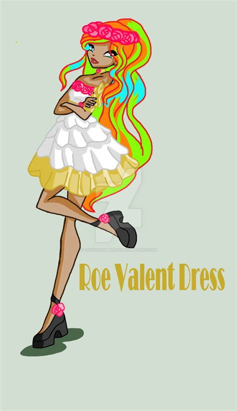 Valent Dress roe valent dress by loveyraspberry on deviantart