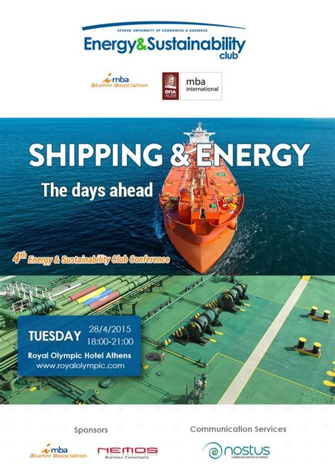 Mba 723 E2ww Managerial Economics by Energy And Shipping Challenges And Perspectives Mba
