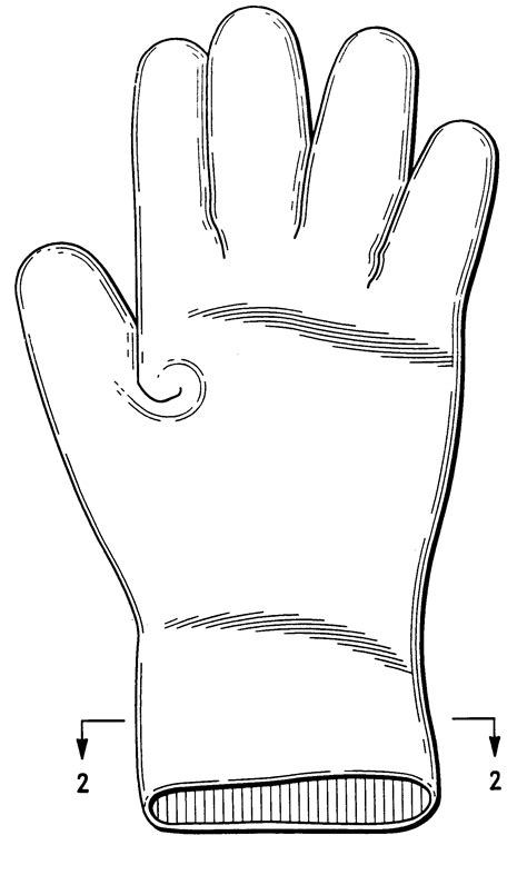 Drawing Glove by Patent Us6274154 Aloe Vera Glove And Manufacturing
