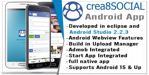 android templates for sale crea8social android template app by rusahang codecanyon