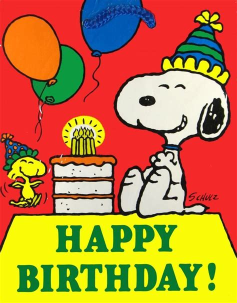 happy birthday images snoopy pinecam com view topic warmest birthday wishes