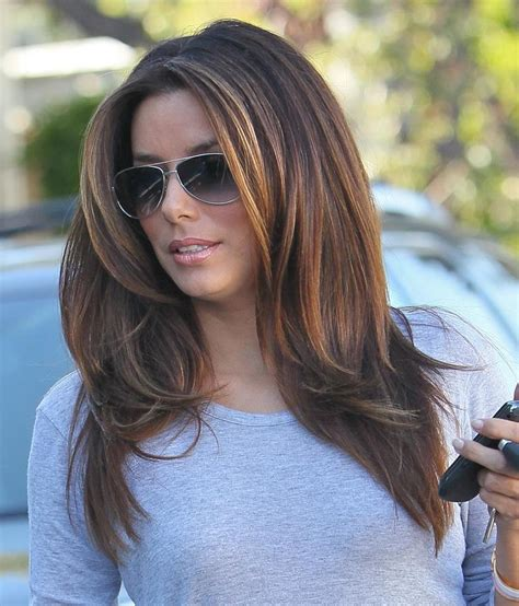 haircuts that add volume to long hair eva longoria volume hair pinteres