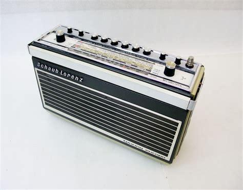 transistor vehicle schaub lorenz touring europa transistor car radio 1969