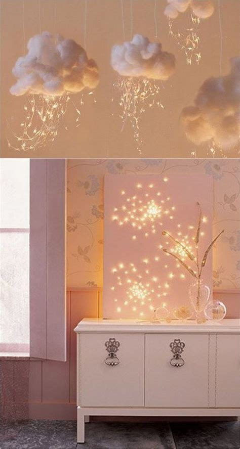 add touch of beauty and warmth to your home with wall decorating ideas home design interiors 18 magical ways to use string lights to add warmth and