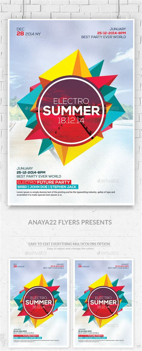 Print Template Graphicriver Summer Party Flyer Psd Templates 11874724 187 Dondrup Com Graphicriver Flyer Template