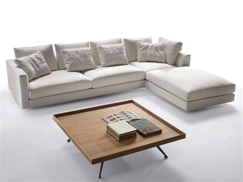 fabric sofa with chaise fabric sofa with chaise longue malibu collection by marac