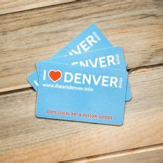Denver Gift Cards - i heart denver store on pinterest