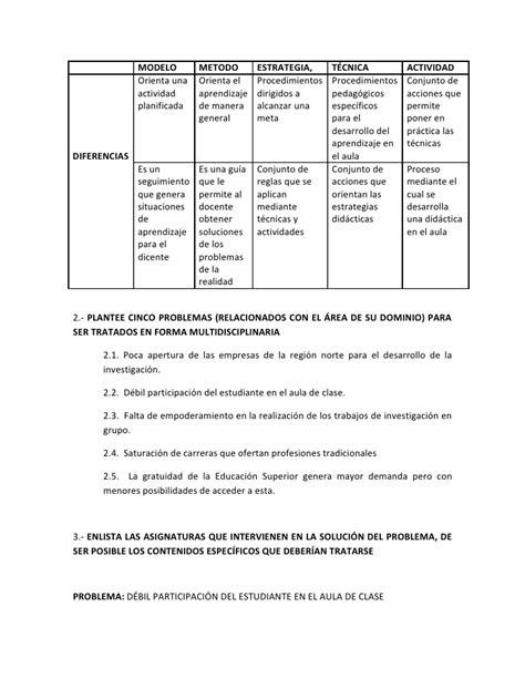 Modelo Curricular Socio Critico Plan De Clase Con Aplicaci 211 N De La Did 193 Ctica Investigativa Con Enfoq