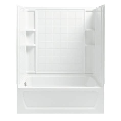 lowe s bathtub shower combo images