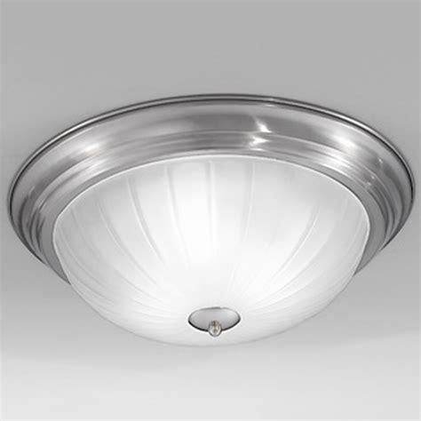 Franklite Ribbed Shade Bathroom Ceiling Light Cf1286 Franklite Lighting Luxury Lighting Franklite Low Energy Ribbed Acid Glass Satin Nickel 355mm Dia Flush Ceiling Fitting