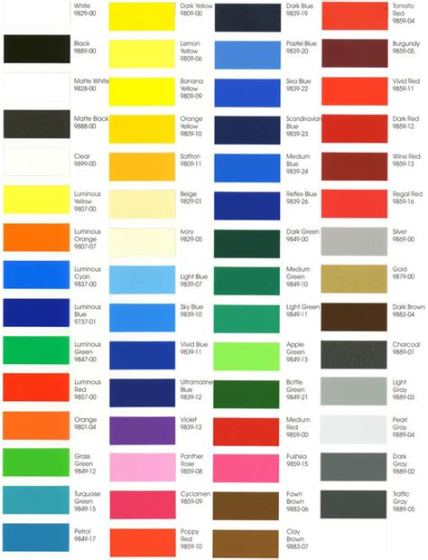 3m color chart 3m sign vinyl colors related keywords 3m sign vinyl