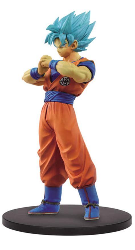 Banpresto Dxf Db Ss Vegetto Ss Blue Goku Set Of 2 figura banpresto ss goku blue 18 cm distribuidores mayoristas distribucion
