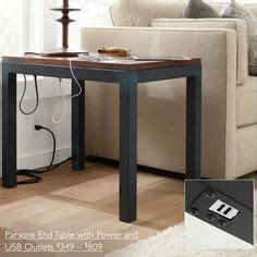 side tables with plugs pcs67 series power bar maximize power and usb charging