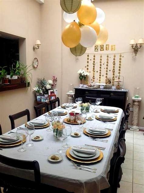 ideas  decorar comedores en noche vieja ano nuevo ideas casas