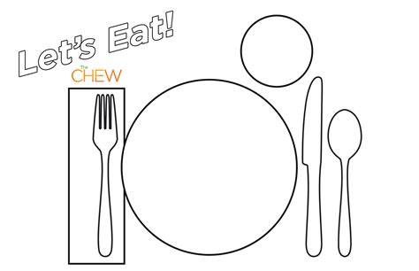 place setting template template printable place setting template place setting