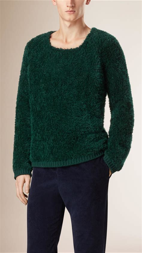 Sweater Anak Donal Duck Bungsu Clothing 3 burberry technical mohair teddy sweater in green for lyst