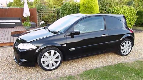 renault megane 2005 black video review of 2005 renault megane renaultsport 225 for
