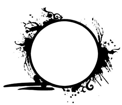 148 Grunge Circle Frame By Tigers Stock On Deviantart Circle Logo Template Photoshop