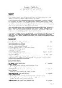 exles of resumes resume maker exle sle