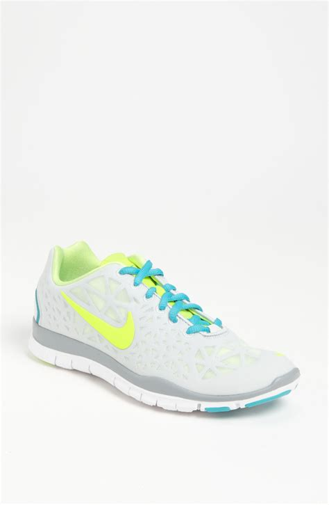 nike free tr fit 3 shoe in gray light grey