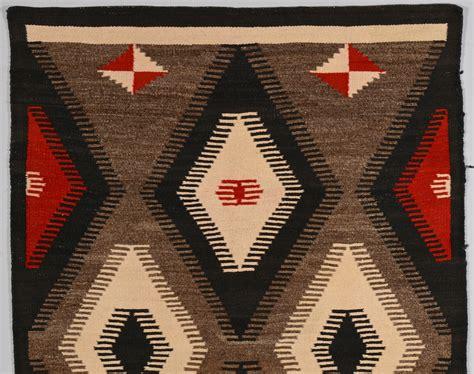 Navajo Rug American by Lot 515 American Navajo Rug
