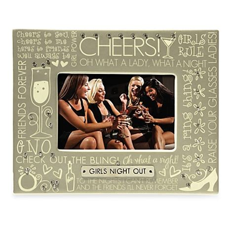 bed bath and beyond ca girls night out 4 inch x 6 inch sentiment frame