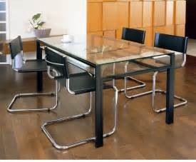 Dining Table With Black Frame Mirage Rakuten Global Market Glass Dining Table