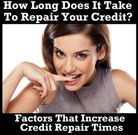 How Does It Take To Do Your Mba by How Does It Take To Repair Your Credit Part One