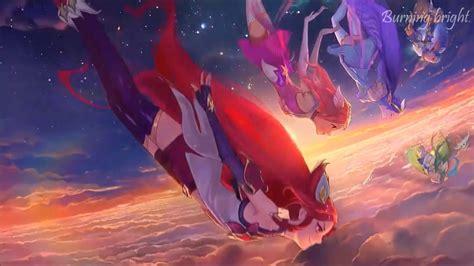theme song jinx burning bright star guardian music lyrics league of