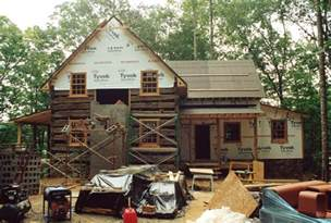 an owner built log cabin part 2 handmade houses