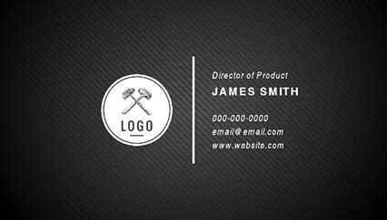15 free printable business card templates & examples