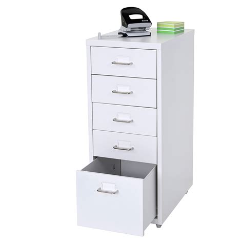 armadietto ufficio cassettiera armadietto ufficio boston t851 ruote con 5 6