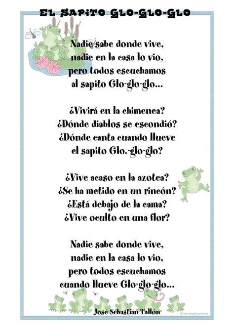 coplas con 4 versos coplas de animales con 4 versos y rimas poemas para ninos
