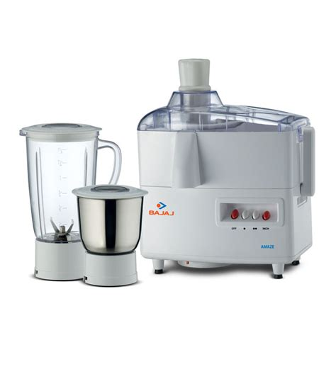 Bajaj Small Home Appliances Bajaj Amaze Juicer Mixer Grinder By Bajaj Juicer