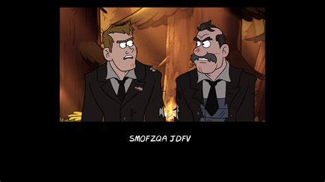 spooky end whitehouse volume 3 books image s2e1 end credits cryptogram png gravity falls wiki