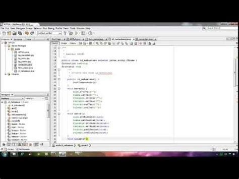 tutorial netbeans database tutorial membuat aplikasi pendaftaran mahasiswa with java