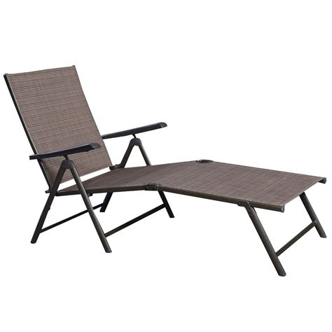Patio Furniture Textilene Adjustable Pool Chaise Lounge Adjustable Patio Chairs