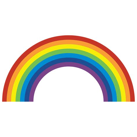 wall stickers rainbow rainbow wall sticker