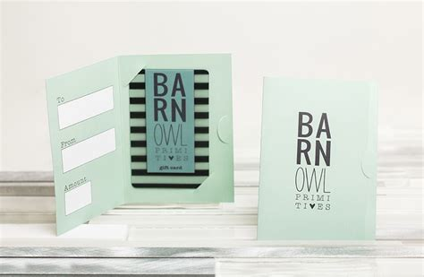 Gift Card Backers - gift card holders sleeves envelopes custom gift card accessories from plastic