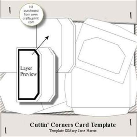 swinging door card envelope templates cup315375 99