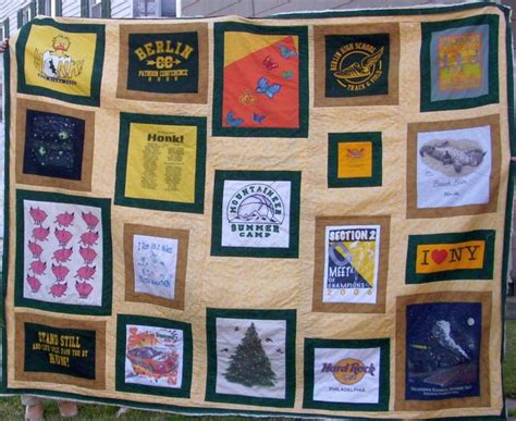T Shirt Quilt Pattern by T Shirt Quilt Ideas And Techniques Sewing Inspiration