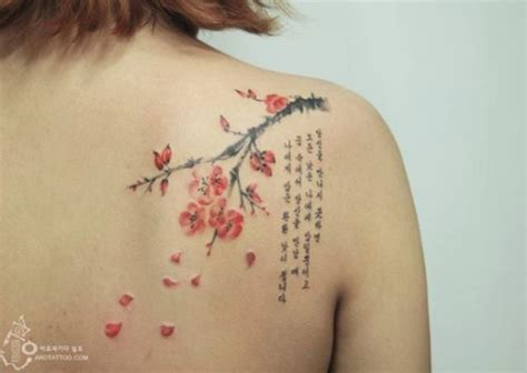 simple tattoo designs korean 15 beautiful tattoos that look like watercolour paintings